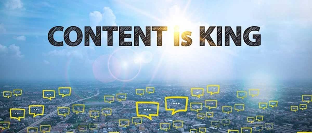 Blog Content is Emperor